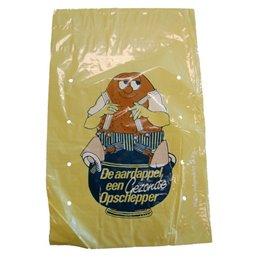 Potato Bags Yellow LDPE 32x50cm