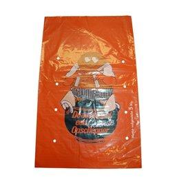 Potato Bags Orange LDPE 32x50cm