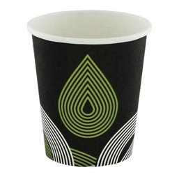 "Coffee Cups Cardboard 200ml 8oz Ø 80mm ""Drop"""