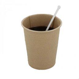 Coffee Cups Brown Cardboard 237m 9ozl Ø 80mm