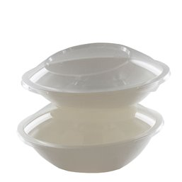 Saladebakken 800ml Suikerriet Rond 225 x 170 x 65mm