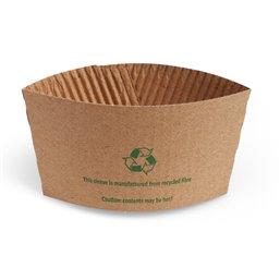 Cardboardnen Sleeve For 8-10oz beker