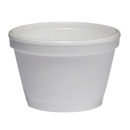Foam Containers (D6-s) White 104ml Ø 73,6mm