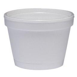Foam Bekers 118ml (D6-s) Wit Ø 73,6mm