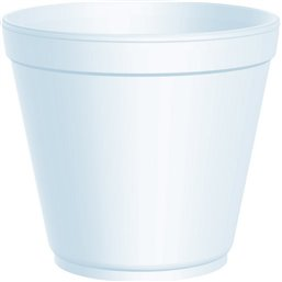 Foam Containers (D32-s) White 591ml Ø 116,8mm