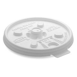 Deksels (D6-s) Wit PS Ø 70mm