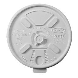 Deksels Wit PS Ø 88,9mm