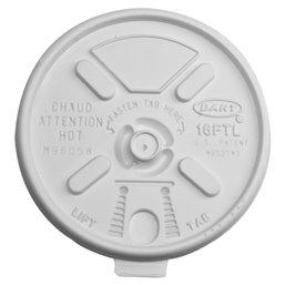 Deksels Wit PS Ø 91,4mm
