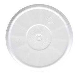 Deksels met Stoomgaatje EPS Wit Ø 114,3mm
