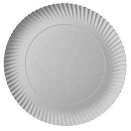 "Cardboard Plates ""Pure"" Round Ø 290 x 20mm White"