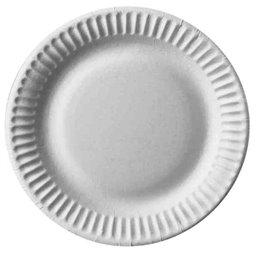 "Cardboard Plates ""Pure"" Round Ø 150mm White"