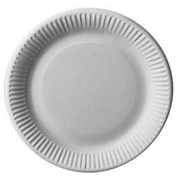 "Cardboard Plates ""Pure"" Round Ø 230mm White"