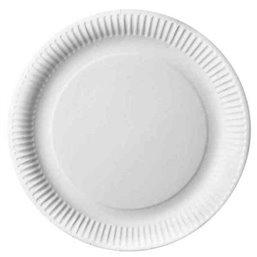 "Cardboard Plates ""Pure"" Round Ø 290mm White"
