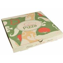 """Pizza Box Cellulose """"Pure"""" 26cm x 26cm x 3cm"""