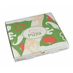"""Pizza Box Cellulose """"Pure"""" 30cm x 30cm x 3cm"""