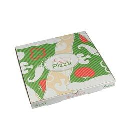 """Pizza Box Cellulose """"Pure"""" 330 x 330 x 30mm"""