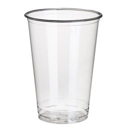 "Drinkbekers 200ml ""Pure"" PLA Glashelder ""voor Koude Dranken"" Ø 70,3 x 97mm"