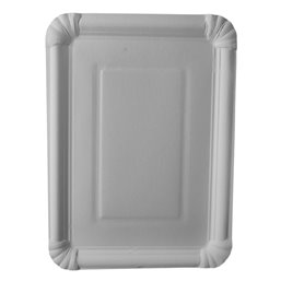 "Cardboard Plates ""Pure"" 215 x 290mm White"
