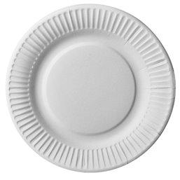 "Cardboard Plates ""Pure"" Round Ø 190mm White"