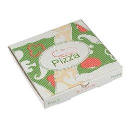 """Pizza Box Cellulose """"Pure"""" 20 x 20 x 3cm"""