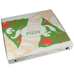"""Pizza Box Cellulose """"Pure"""" 50 x 50 x 5cm"""