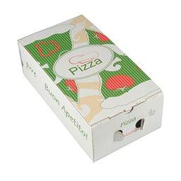 """Pizza Box Cellulose """"Pure"""" 30 x 16 x 10cm"""