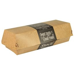 "Baguettebox Karton ""Good Food"" 210 x 75 x 62mm"