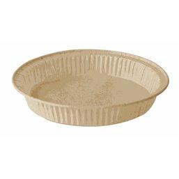 """Baking Tins Parchment Paper """"Pure"""" 142ml Ø 11cm x 2,1cm Brown"""