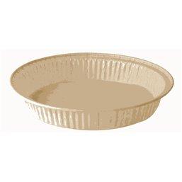 """Baking Tins Parchment Paper """"Pure"""" 220ml Ø 13,8cm x 2,1cm Brown"""