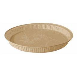 """Baking Tins Parchment Paper """"Pure"""" 600ml Ø 19,7cm x 2,7cm Brown"""