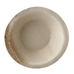 "Palm Leaf Trays ""Pure"" Round 100ml Ø 10 x 3cm"