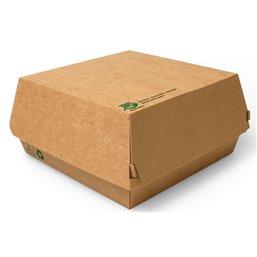 """Hamburger Box Big """"100% FAIR"""" 155 x 155 x 90mm"""