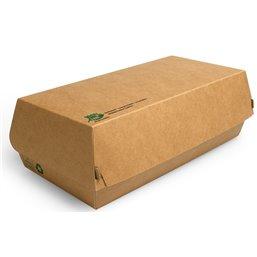 """Snackbox - Broodbox """"100% Fair"""" 220 x 107 x 75mm"""