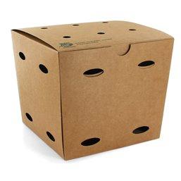 """Fries boxes Medium """"100% FAIR"""" 145 x 145 x 140mm"""