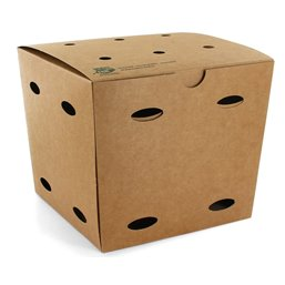 "Frietboxen Medium ""100% Fair"" 145 x 145 x 140mm"