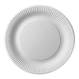 "Cardboard Plates ""Pure"" Round Ø 260mm White"