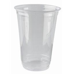 """Drinkbekers 400ml """"Pure"""" PLA Glashelder """"voor Koude Dranken"""" Ø 95 x 127mm"""