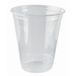 """Drinkbekers 300ml """"Pure"""" PLA Glashelder """"voor Koude Dranken"""" Ø 95 x 106,8mm"""