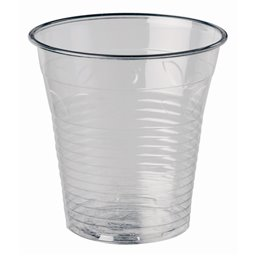 "Drinkbekers 150ml ""Pure"" PLA Glashelder ""voor Koude Dranken"" Ø 70,8 x 72,9mm"