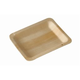 "Amuse Plates made of Wood ""Pure"" Rectangular 120 x 95mm"
