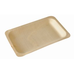 "Amuse Plates made of Wood ""Pure"" Rectangular 195 x 140mm"
