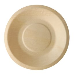 "Amuse Plates made of Wood ""Pure"" Round Ø 140 x 20mm"