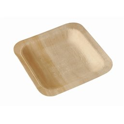 "Amuse Plates made of Wood ""Pure"" Rectangular 140 x 140mm"