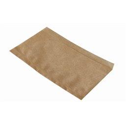 "Hotdog Bags ""Pure"" 180 x 110mm Brown Grease Resistant"