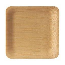 "Amuse Schaaltjes Bamboe ""Pure"" Rechthoek 85 x 85 x 15mm"