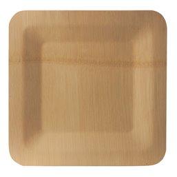 "Borden Bamboe ""Pure"" Rechthoek 230 x 230 x 15mm"