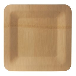 "Plates made of Bamboe ""Pure"" Rectangular 15 x 230 x 230mm"