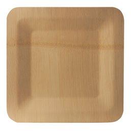 "Borden Bamboe ""Pure"" Rechthoek 255 x 255 x 15mm"