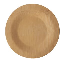 "Plates made of Bamboe ""Pure"" 1-compt. Ø 180 x 15mm"