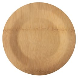 """Plates made of Bamboe """"Pure"""" 1-compt. Ø 280 x 15mm"""
